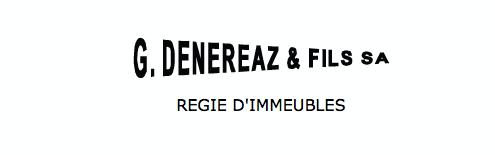 G. Dénéréaz & Fils SA