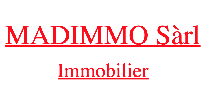 MADIMMO Sàrl - Immobilier