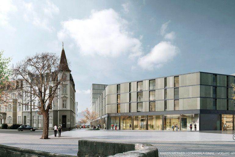 Le centre-ville de Delémont se transforme