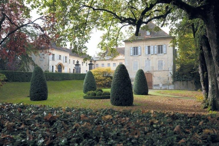 Un château devient campus  universitaire
