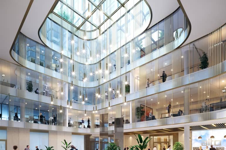 Genf: ein Gebäude für die Arbeit von morgen