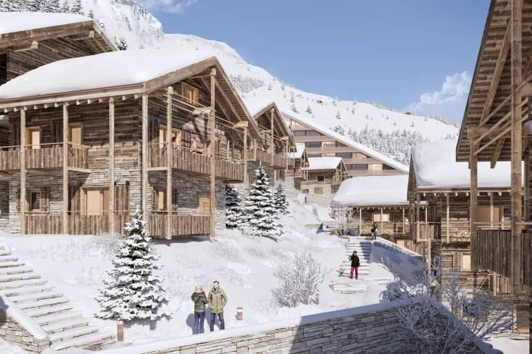 The Residences Guernerés on the heights of Grimentz, a Swiss alpine treasure