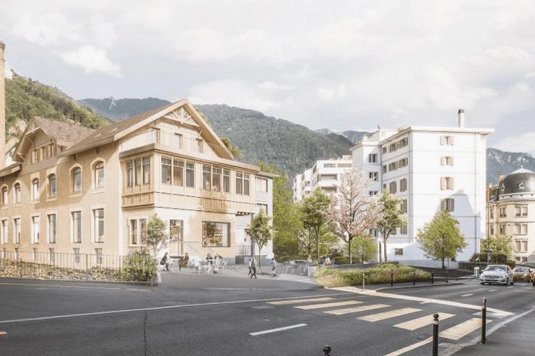 Montreux : la construction des Rives de la Baye commence