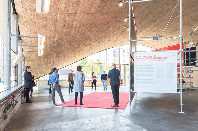 Concours d'architecture: la Suisse exporte son savoir-faire